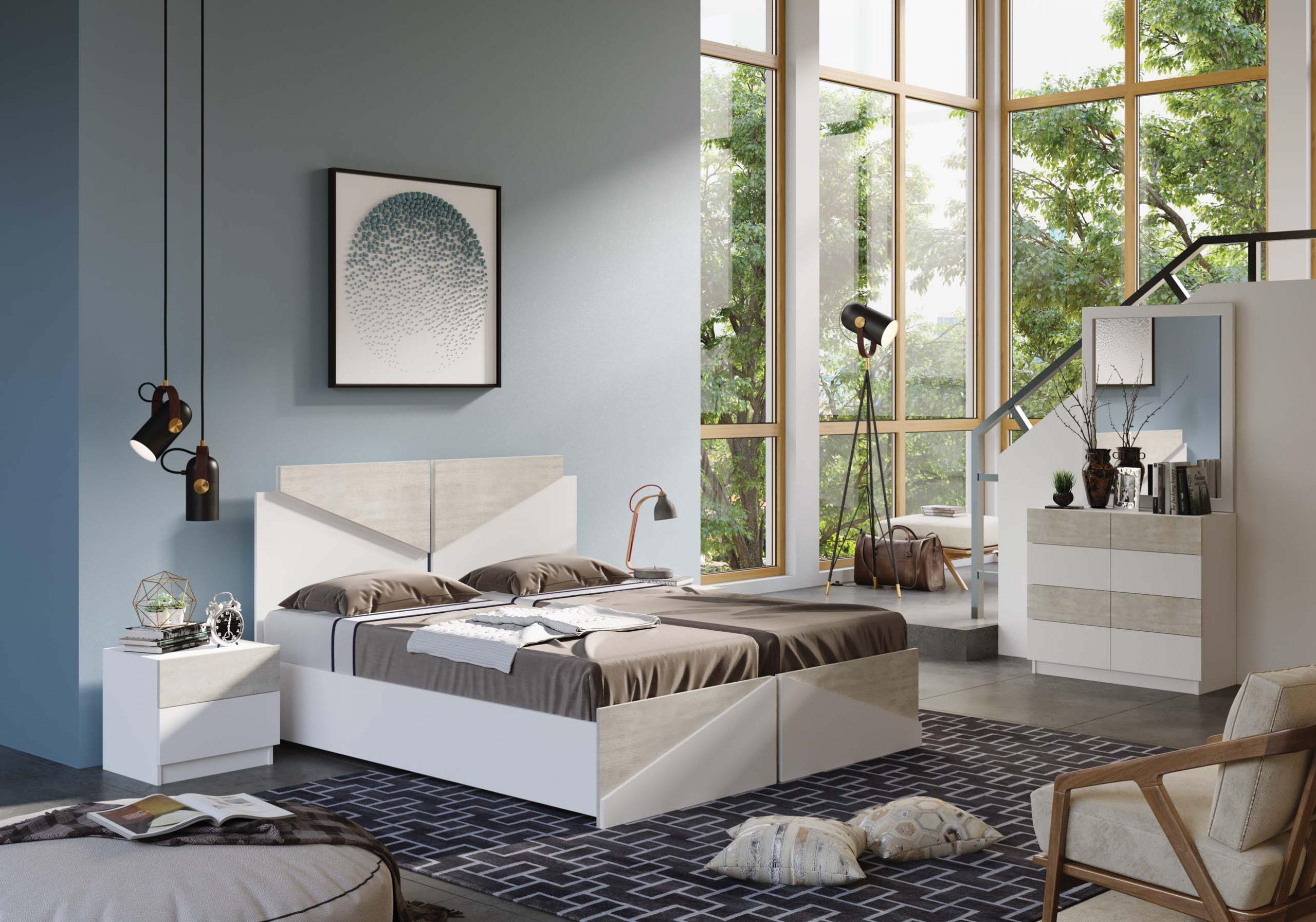 חדר שינה מיטה יהודית דגם חרצית
