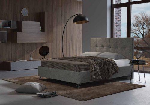 מיטה זוגית דגם קוביין